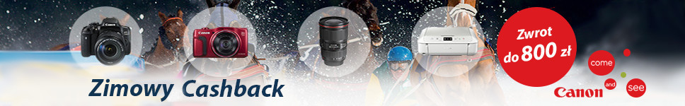 Canon Zimowy Cashback