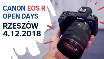 Open Days Canon EOS R w (R)zeszowie.