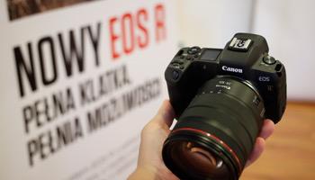 Canon EOS R w naszych rękach