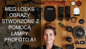 Meg Loeks i jej oniryczne obrazy stworzone z pomocą lampy Profoto A1