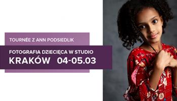 Warsztaty studyjne fotografii dziecięcej z Ann Podsiedlik w Krakowie