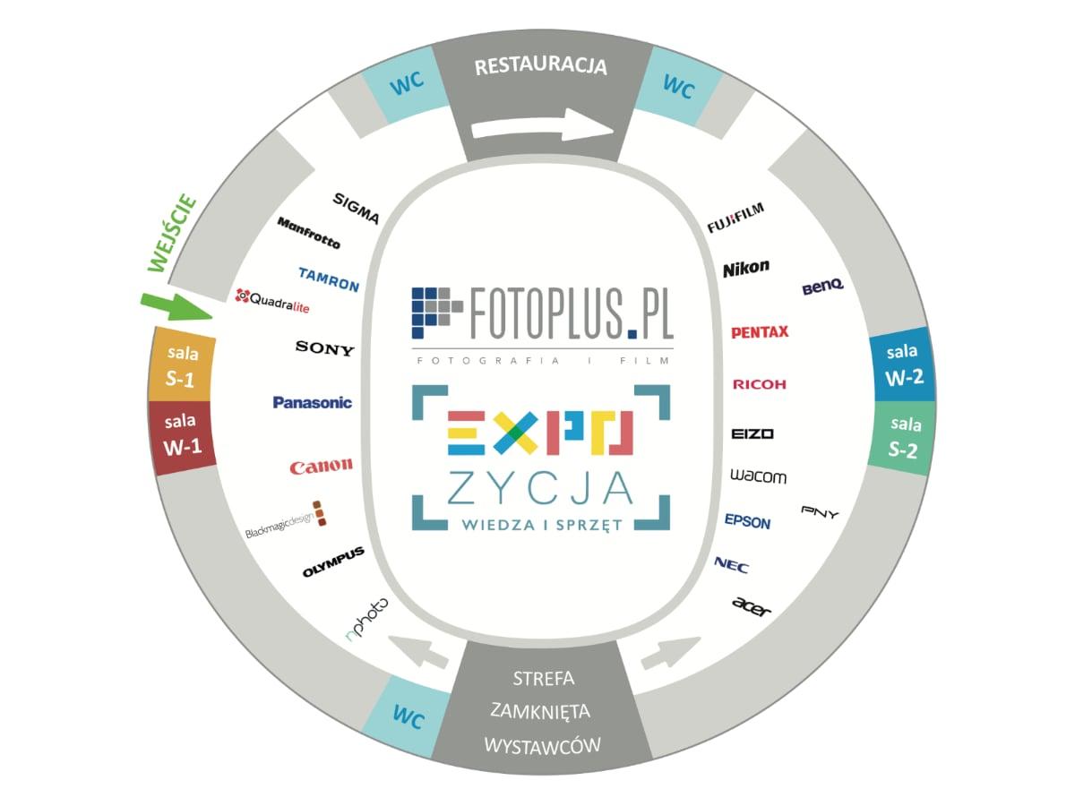 mapa obiektu - tauron arena