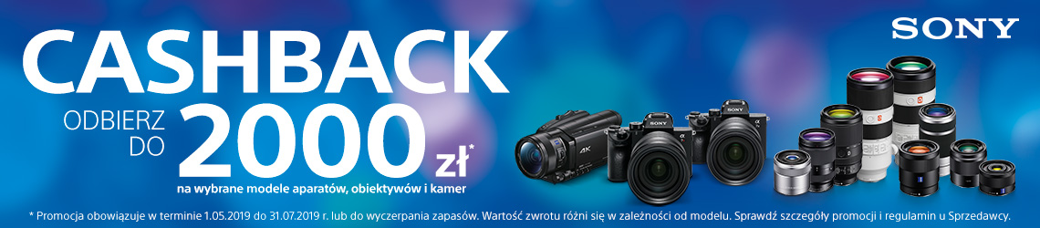 Sony cashback do 2000zł