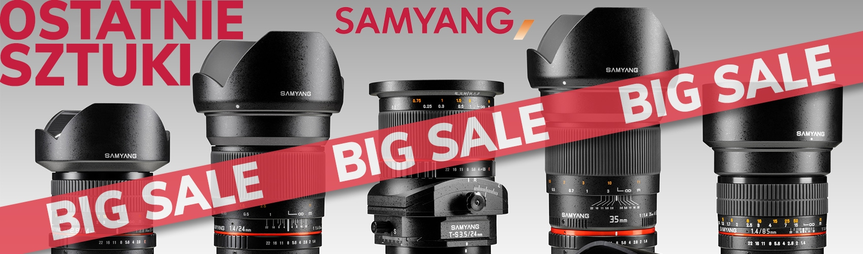 SAMYANG BIG SALE