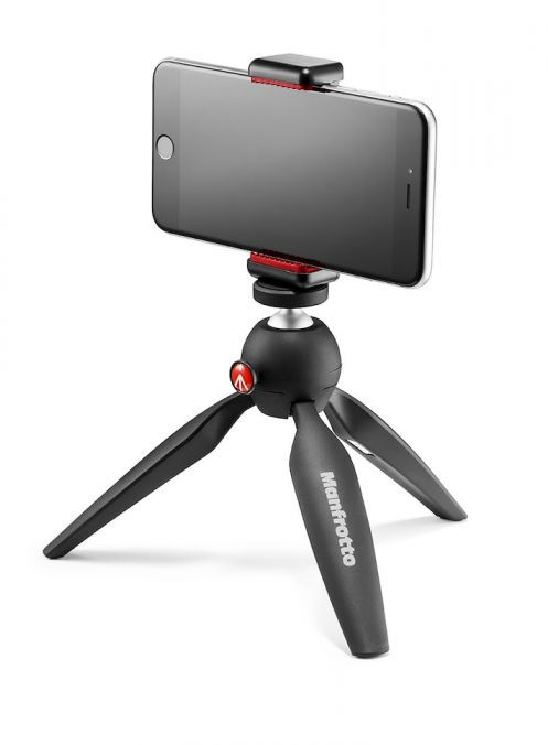 Statyw stołowy Manfrotto PIXI Smart Mini statyw z klamrą do telefonu