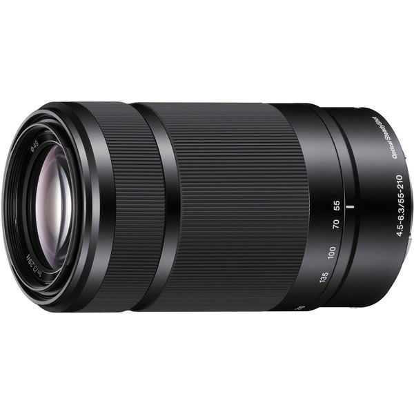 Obiektyw Sony E 55-210mm f/4,5-6,3 (czarny) + MARUMI UV Fit-Slim MC 49mm GRATIS!