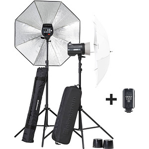 Elinchrom zestaw lamp BRX 250/250 Umbrella Set