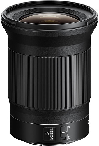 Obiektyw Nikkor Z 20mm f/1.8 S + MARUMI UV Fit-Slim MC 77mm GRATIS!