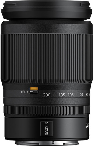 Obiektyw Nikkor Z 24-200mm f/4-6.3 VR + MARUMI UV Fit-Slim MC 67mm GRATIS!