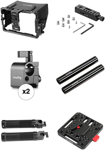 "SmallRig Director's Cage Kit do Atomos 7"" Monitors - Wietrzenie magazynu!"