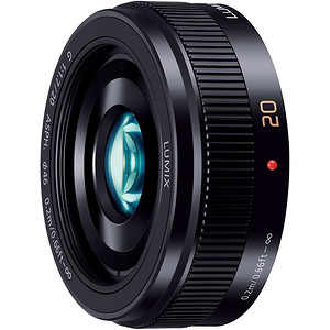 Obiektyw Panasonic LUMIX G 20mm f/1,7 ASPH II + MARUMI UV Fit-Slim MC 46mm GRATIS!