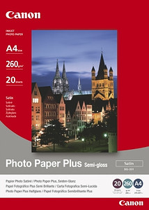 Papier Canon Photo Plus Semi-gloss (SG-201)