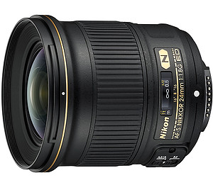 Obiektyw Nikkor AF-S 24mm f/1,8G ED + MARUMI UV Fit-Slim MC 72mm GRATIS!