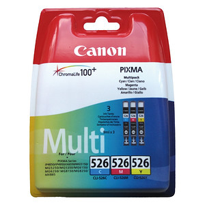 Tusz Canon CLI-526CMY ColorPack