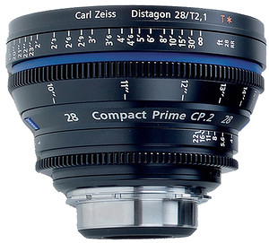 Carl Zeiss Compact Prime CP.2 28mm/T2.1 T* (Sony E-mount - skala metryczna)