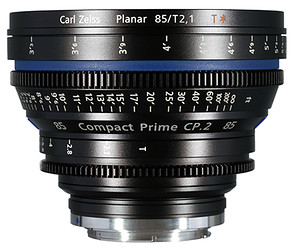 Carl Zeiss Compact Prime CP.2 85mm/T2.1 T* (Sony E-mount - skala metryczna)