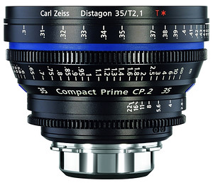 Carl Zeiss Compact Prime CP.2 35mm/T2.1 T* (Sony E-mount - skala metryczna)