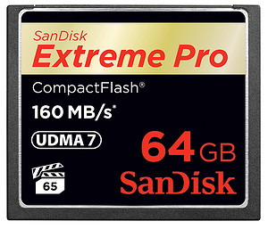 Karta pamięci SanDisk CompactFlash Extreme PRO 64GB (160MB/s)