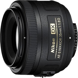 Obiektyw Nikkor AF-S DX 35mm f/1,8G + MARUMI UV Fit-Slim MC 52mm GRATIS!