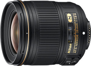 Obiektyw Nikkor AF-S 28mm f/1,8G + MARUMI UV Fit-Slim MC 67mm GRATIS!