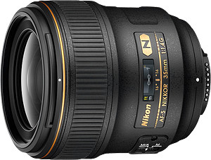 Obiektyw Nikkor AF-S 35mm f/1,4G + MARUMI UV Fit-Slim MC 67mm GRATIS!