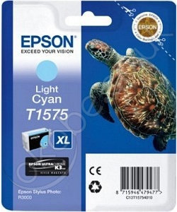 Epson tusz T1575 Light Cyan (R3000)
