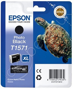 Epson tusz T1571 Photo Black (R3000)