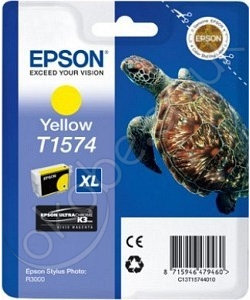 Epson tusz T1574 Yellow (R3000)