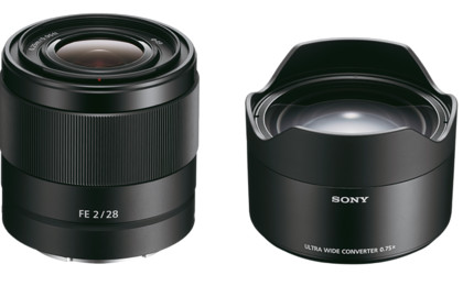 Obiektyw Sony FE 28mm f/2 + konwerter 075 UWC + MARUMI UV Fit-Slim MC 49mm GRATIS! + cashback 250zł