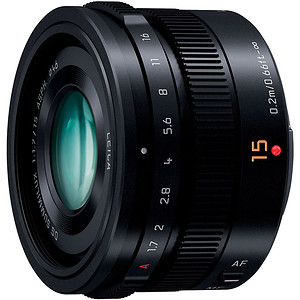 Obiektyw Panasonic LUMIX G LEICA DG Summilux 15mm f/1,7 ASPH + MARUMI UV Fit-Slim MC 46mm GRATIS!