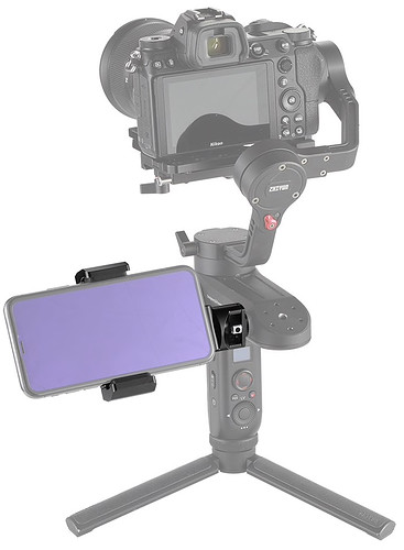 Uchwyt SmallRig 2286 Smartphone Clamp do Zhiyun Weebill LAB / Crane3