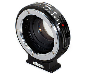 Metabones Nikon G-micro 4/3 Speed Booster (MB_SPNFG-m43-BM3)