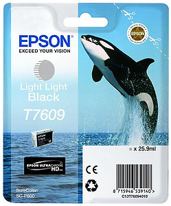Epson tusz T7609 Light Light Black (SC-P600)