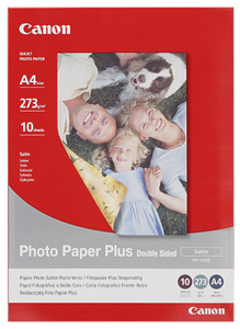 "Canon Photo Paper Plus Satin ""Double Sided"" (PP-101D)"