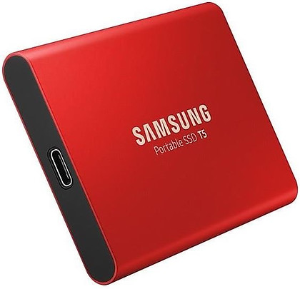 Dysk Samsung Portable SSD 500GB T5 RED