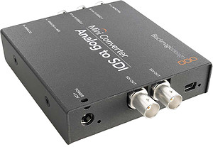 Blackmagic Mini Converter Analog > SDI