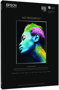 Papier Epson Signature Worthy Hot Press Bright