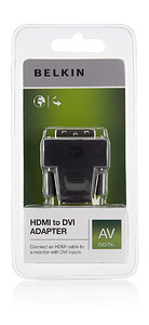 Belkin adapter HDMI > DVI