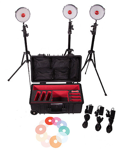 Zestaw Rotolight NEO 2 - 3 LIGHT KIT (walizka)