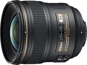Obiektyw Nikkor AF-S 24mm f/1,4G ED + MARUMI UV Fit-Slim MC 77mm GRATIS!