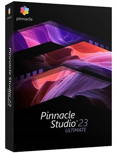 Pinnacle Studio 23 Ultimate PL Box